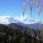 13:41 三つ峠を眺めるが、富士山は雲のなか