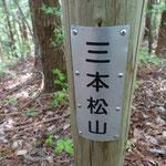 三本松山(611m)