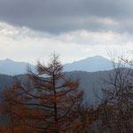 大岳山と御前山