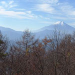 富士山も綺麗に眺められました
