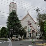 サレジオ教会に立ち寄り