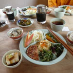29日 スゴ乗越小屋の夕食