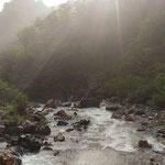 瀬戸川(温泉から300m下ったところ)・6:40