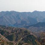 仏果山を望む