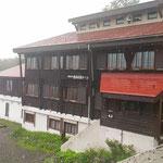 【一日目】蓮華温泉・朝から雨です