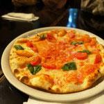 ピザで夕飯