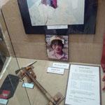 22日 ポカラの山岳博物館の展示物、田部井さんのとざん用具も。