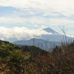 富士山も眺められました