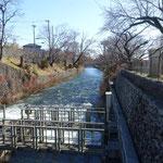 玉川上水の出発点を確認