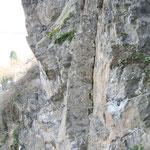 Inspektion eines Klettersteiges