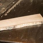 Herstellung von Holzgeschirr
