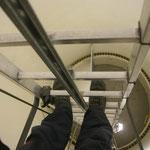 Windanlage / Aufstieg