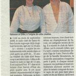 05 mars 2009 - La vie nouvelle - Une association bien née