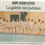 20 janvier 2009 - Le Dauphiné Libéré - La galette des judokas