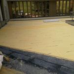 Sanierung Flachdach über Eingang
