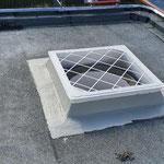 Dachkuppel ohne Abdeckung