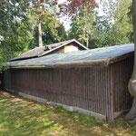 Schadaupark Thun - sanierbedürftiges Dach