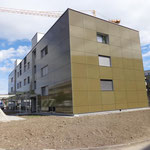Neubau MFH Jungfrauweg, Münsingen - Rückseite