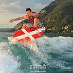 Augustin Dorgal, un nom qui monte dans le monde du wakesurf, champion du monde amateur en 2016
