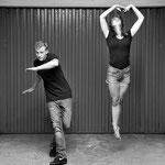 Estelle et Ludovic, battle classique/hip hop