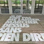 installation de Benjamin Isidore Juveneton à la cité de la Mode et du Design à Paris