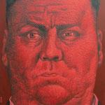 Gemälde  463 Red Rage Vol. 2,  Acryl auf Leinwand,2014,  90 x 140 cm