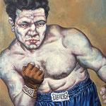 Gemälde 216  Jack LaMotta   Acryl auf Leinw.,2007,   50 x 70 cm