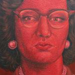 Gemälde  464 Red Rage Vol. 3,   Acryl auf Leinwand ,2014,90 x 140 cm
