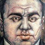 Gemälde 174  Capone   Acryl auf Leinw.,2006,   90 x 120 cm