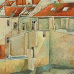 Gemälde 325   Berliner Aussicht   Acryl auf Leinw.,2009,  40 x 50 cm