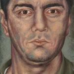 Gemälde 395  John Gotti  1965   Acryl auf Leinw.,2010,  60 x 130 cm