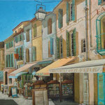 Gemälde 419 Ambiance Cote-d `Azur  Acryl auf  Leinw.,2012, 100 x 145 cm