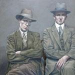 Gemälde  454  Murder INC.  Acryl auf Leinwand,2013,  150 x 200 cm