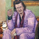 Gemälde 159  Mickey   Acryl auf Leinw.,2006, 100 x 130 cm