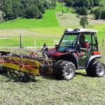 Aebi Maschinen Demonstration der Streich Landmaschinen GmbH Meiringen