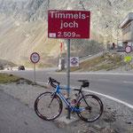 Timmelsjoch auf 2509 m