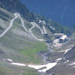 Franzenshöhe auf 2190m
