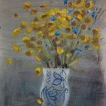 """Галина Дячок. Выставка """"За облаком воздушной акварели теряет время смысл..."""". г.Псков"""