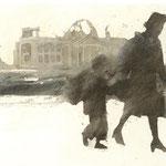 Berlin, Flüchtlinge, Bild, Illustration, igor kuprin