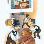 Busines, Internetbanking, Bild, Illustration, igor kuprin