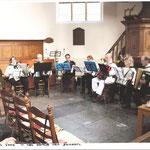 optreden 2 maart 2009 in het kerkje van Schoorl.