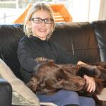 Shanea mit Brownie