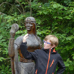 Meine Familie unterwegs im Schwarzwald: Geroldsecker Burgpfad Seelbach, Lynn Roser