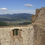 Blick von der Burg Hohengeroldseck Seelbach im Sommer, Ulrike Stoll