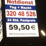 Schlüsselnotdienst für ganz Hamburg