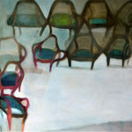 Expositio, 145 x 195cm, huile sur toile, 2013