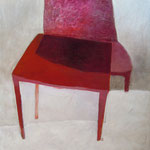 Table rouge, 195cm x 145cm, huile/toile, 2012