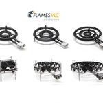 Catálogo de paelleros Flames