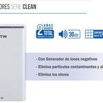 Catálogo purificador Hepa serie Clean