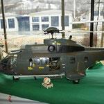 äusserst detailgetreue Modellhelikopter
